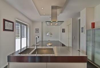 Spülenunterschrank in der Küche