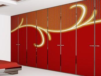 schrank tapezieren anleitung und tipps. Black Bedroom Furniture Sets. Home Design Ideas